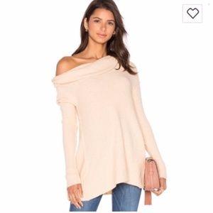 Free People Strawberry Fields Wool Beige Sweater
